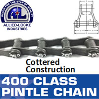 445 COTTERED PINTLE CHAIN
